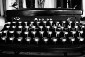 Typewriter is wrong tool for digital marketing - JML Digital Marketing